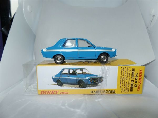 Atlas French Dinky 1424G RENAULT 12 GORDINI IN BLUE